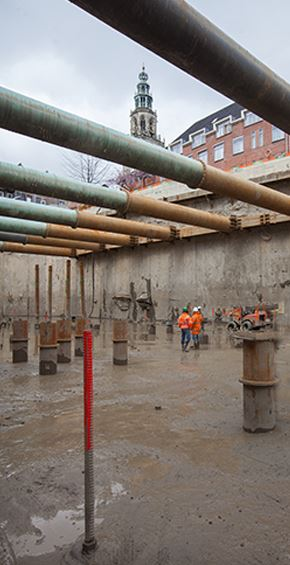 Underground construction Reduction of risks